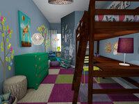 Online design Eclectic Bedroom by Rachel H. thumbnail