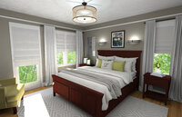 Online design Traditional Bedroom by Rachel H. thumbnail