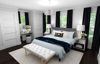 Online design Contemporary Bedroom by Rachel H. thumbnail