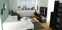 Online design Transitional Living Room by Janet Y thumbnail