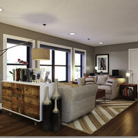 Online design Eclectic Living Room by Aldrin C. thumbnail