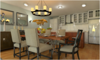 Online design Transitional Dining Room by Juan S. thumbnail