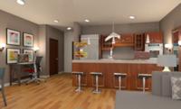 Online design Modern Kitchen by Juan S. thumbnail