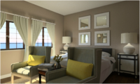 Online design Transitional Bedroom by Juan S. thumbnail