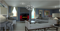 Online design Traditional Living Room by Juan S. thumbnail