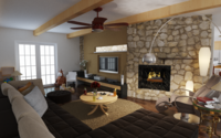 Online design Country/Cottage Living Room by Quyne N thumbnail