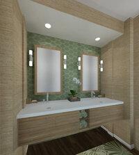 Online design Transitional Bathroom by Jennifer L. thumbnail