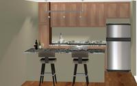 Online design Transitional Kitchen by Jennifer L. thumbnail