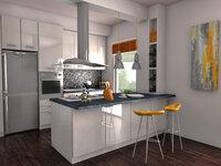 Online design Modern Kitchen by Anna T thumbnail