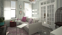 Online design Modern Living Room by Anna T thumbnail