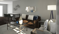 Online design Transitional Living Room by Anna T thumbnail