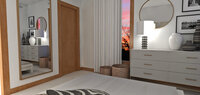 Online design Glamorous Bedroom by Laura A. thumbnail