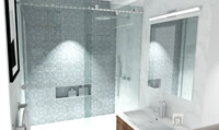 Online design Contemporary Bathroom by Laura A. thumbnail