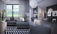 Online design Contemporary Living Room by Ibrahim H. thumbnail