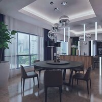 Online design Modern Dining Room by Ibrahim H. thumbnail