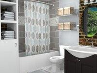 Online design Transitional Bathroom by Allison H. thumbnail