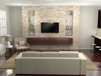 Online design Contemporary Living Room by Allison H. thumbnail