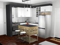 Online design Eclectic Kitchen by Allison H. thumbnail