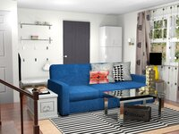 Online design Eclectic Living Room by Allison H. thumbnail