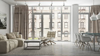 Online design Combined Living/Dining by Julian Francisco A. thumbnail