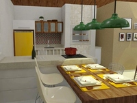 Online design Kitchen by Jéssica D. thumbnail