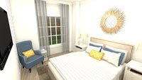 Online design Transitional Bedroom by Jéssica D. thumbnail