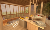Online design Contemporary Bathroom by Picharat A.  thumbnail