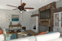 Online design Eclectic Living Room by Picharat A.  thumbnail