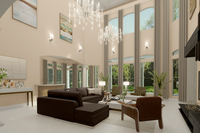 Online design Contemporary Living Room by Picharat A.  thumbnail