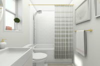 Online design Glamorous Bathroom by Picharat A.  thumbnail
