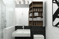 Online design Modern Bathroom by Picharat A.  thumbnail