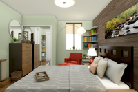 Online design Contemporary Bedroom by Picharat A.  thumbnail