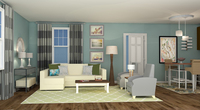 Online design Beach Living Room by Rebecca M thumbnail