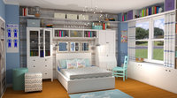Online design Country/Cottage Kids Room by Rebecca M thumbnail