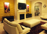 Online design Modern Living Room by Sheema Q thumbnail