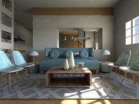 Online design Living Room by Nina R. thumbnail