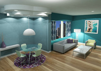Online design Living Room by Mandy H. thumbnail