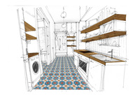 Online design Eclectic Kitchen by Gabriella K thumbnail