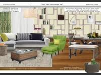 Online design Modern Living Room by Gabriella K thumbnail