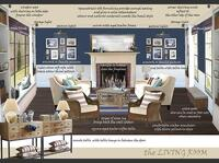 Online design Traditional Living Room by Gabriella K thumbnail