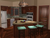 Online design Transitional Kitchen by Brittany S. thumbnail