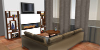 Online design Modern Living Room by Brittany S. thumbnail