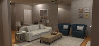 Online design Transitional Living Room by Brittany S. thumbnail