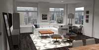 Online design Modern Combined Living/Dining by Brittany S. thumbnail
