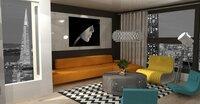 Online design Living Room by Nazila K.  thumbnail