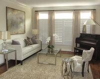 Online design Modern Living Room by Chelsea G thumbnail