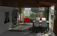 Online design Combined Living/Dining by Inga K. thumbnail