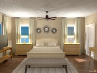 Online design Transitional Bedroom by Sharon C. thumbnail