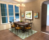 Online design Traditional Dining Room by Sharon C. thumbnail