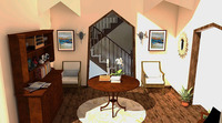 Online design Traditional Hallway/Entry by Sharon C. thumbnail